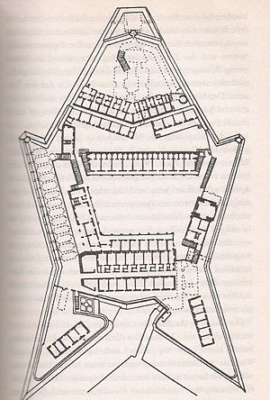 Fort Saint Elmo - Plan of Fort Saint Elmo.