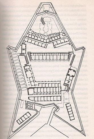 Fort Saint Elmo - Plan of Fort Saint Elmo.