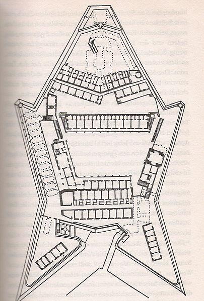 Pläne des Original-Forts