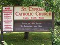 St. Cyprian CC Phila sign.jpg