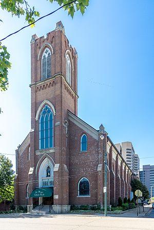 James B. Cook - St. Mary's Catholic Church, 155 Market St., Memphis, TN.