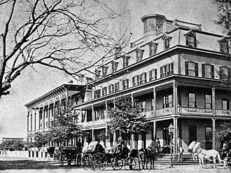 Hemming Park - St. James Hotel in the 1870s.