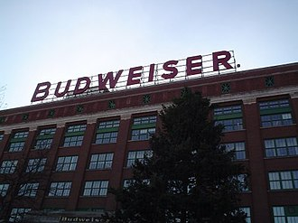 Budweiser - The packaging plant at the Anheuser-Busch headquarters in St. Louis, Missouri