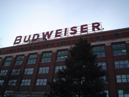 The Anheuser-Busch packaging plant in St. Louis StLouisABPackaging Plant.JPG