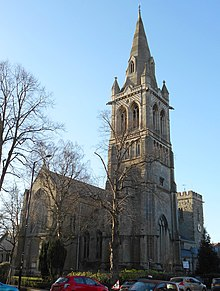 St Andrew's Church, Rugby from north.jpg