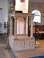 St John the Divine, Mawney Road, Romford - Pulpit - geograph.org.uk - 1763413.jpg