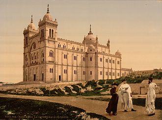 Carthage (municipality) - Saint Louis Cathedral (1899 photograph)