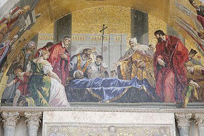 Image result for body of St. Mark.mosaic venezia