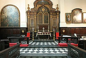 William Newman (woodcarver) - Reredos at St Martin Ludgate
