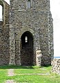 St Mary's Church, Reculver, Kent - Base of north tower - geograph.org.uk - 858185.jpg