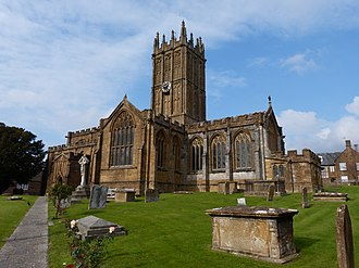 Ilminster - Image: St Mary's church, Ilminster