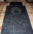 St Mary, Ixworth - Ledger slab (geograph 2914589).jpg