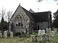 St Mary Magdalene, Madehurst- churchyard (6) - geograph.org.uk - 1729221.jpg