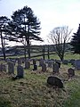 St Michael and The Holy Angels Church, Pennington, Graveyard - geograph.org.uk - 1751828.jpg