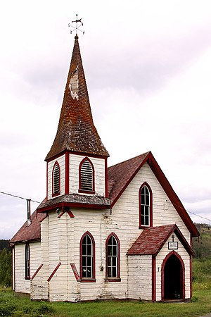 Kitwanga - St. Paul's Anglican Church, Kitwanga