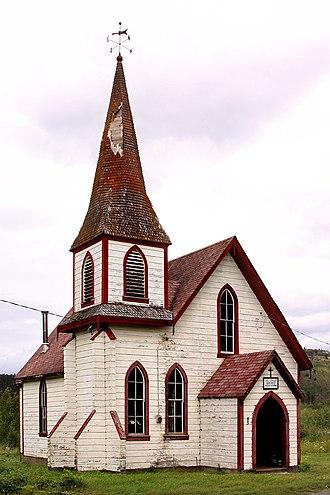 Kitwanga - St. Paul's Anglican Church, Kitwanga
