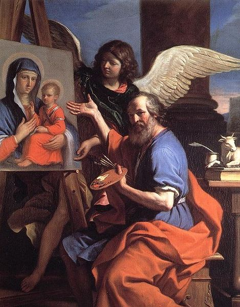 File:St luke displaying a painting of the virgin guercino.jpg