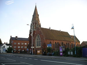 Longford, Coventry - The church of St Thomas the Apostle, Longford Road, Coventry