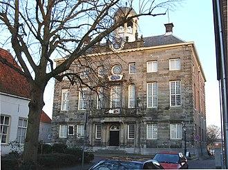 Steven Jacobsz Vennekool - Image: Stadhuis Enkhuizen Voorzijde 20081227
