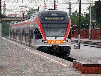 Belarusian Railway - Image: Stadler FLIRT Minsk