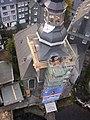 Stadtkirche Monschau Kirchturmhaube Aufsetzen.JPG