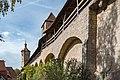 Stadtmauer östlich des Klingentors Rothenburg ob der Tauber 20190922 003.jpg