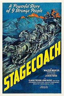 <i>Stagecoach</i> (1939 film) 1939 film by John Ford