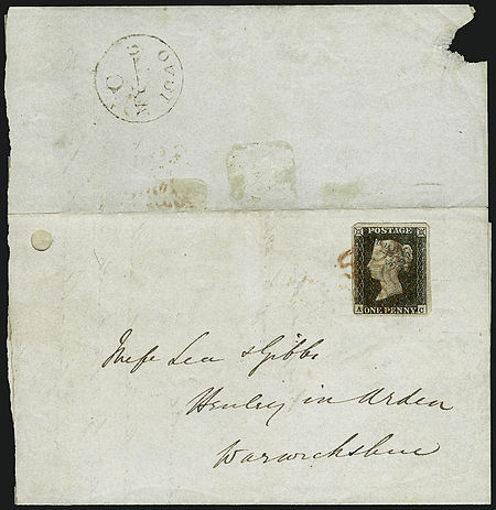 Stamp GB-Penny Black first day cover.jpg