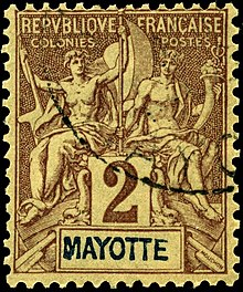 Postage stamps and postal history of Mayotte  Wikipedia