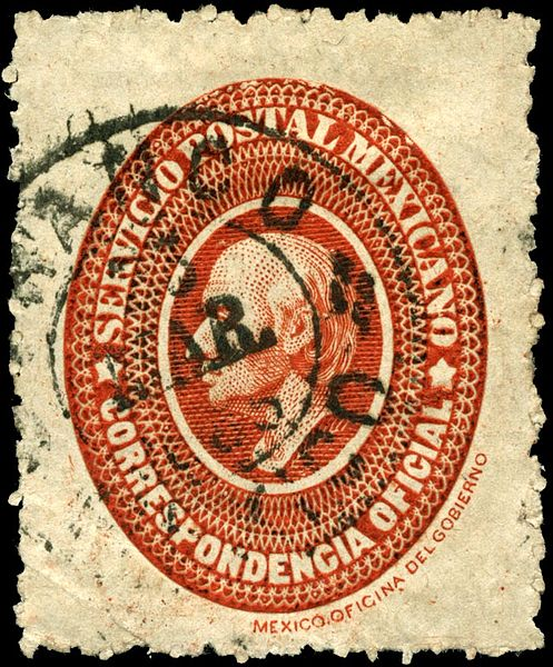 File:Stamp Mexico 1884 official red.jpg