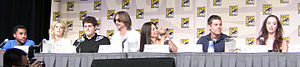 Stargate Universe - The Stargate Universe cast at Comic Con 2009