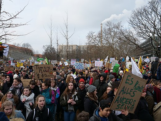 Climate Strike March 15 Twitter: School Strike For Climate Received A High Volume Of Edits