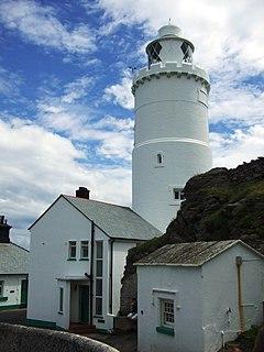 Start Point Lighthouse lighthouse in Stokenham, South Hams, Devon, England