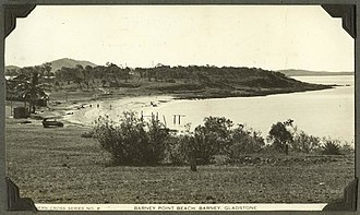 Barney Point, Queensland - Beach at Barney Point Beach, circa 1937