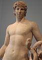 Statua colossale con testa di antinoo (non pertinente), cornucopia e serpente, 130-140 ca. 02.JPG