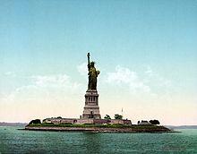 Statue De La Liberté Wikipédia