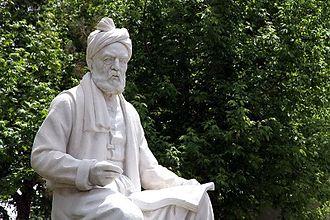 Ferdowsi - Statue of Ferdowsi in Tus