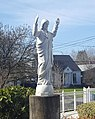 Statue of Jesus at Sacred Heart Catholic Church in Portland Oregon.jpg