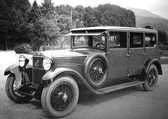 Steiger (automobile company) - Martini-Six. Pullman (1927)