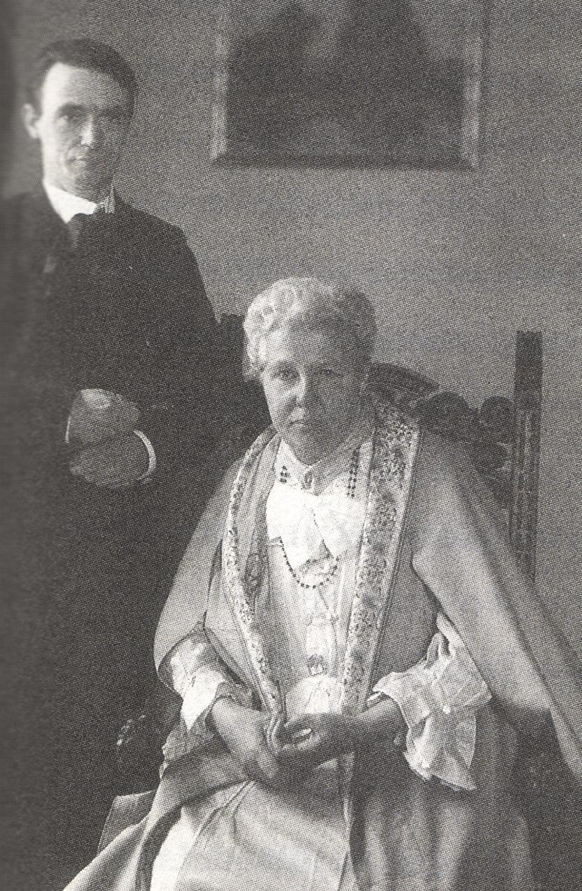 Steiner mit Annie Besant