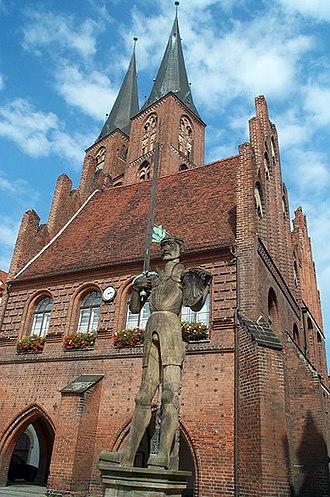 Altmark - Roland statue at Stendal