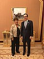 Steven Mnuchin and Kristalina Georgieva at G20 Riyadh Summit.jpg