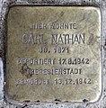 Stolperstein Barstr 28 (Wilmd) Carl Nathan.jpg