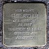 Stolperstein Bundesallee 111 (Fried) Else Ascher.jpg