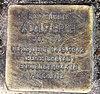 Stolperstein Falkentaler Steig 16 (Hermd) Adolf Broh.jpg