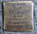 Stolperstein Friedrichstr 11 (Kreuz) Kurt Müller-Croon.jpg