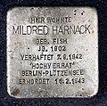 Stolperstein Genthiner Str 14 (Tierg) Mildred Harnack.jpg