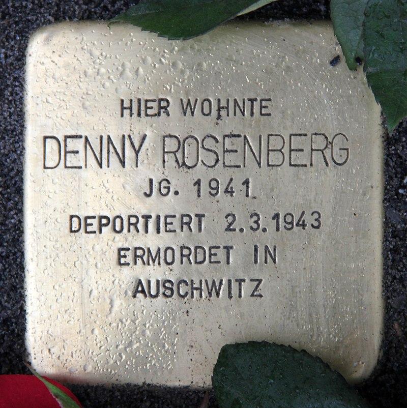 Stolperstein Greifswalder Str 210 (Prenz) Denny Rosenberg.jpg