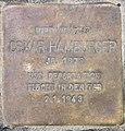 Stolperstein Hektorstr 20 (Halsee) Oskar Hamburger.jpg