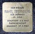 Stolperstein Kantstr 150a (Charl) Rahel Sternberg.jpg
